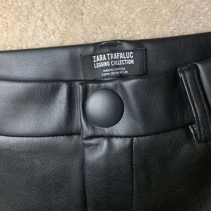 Pants - Zara Faux Leather Leggings